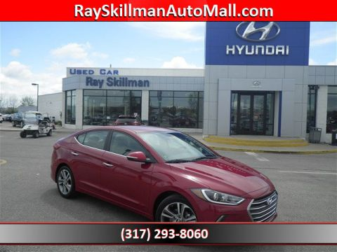 New 2017 Hyundai Elantra LIMITED FWD Sedan