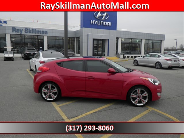 Used Hyundai Veloster W/BLACK INT